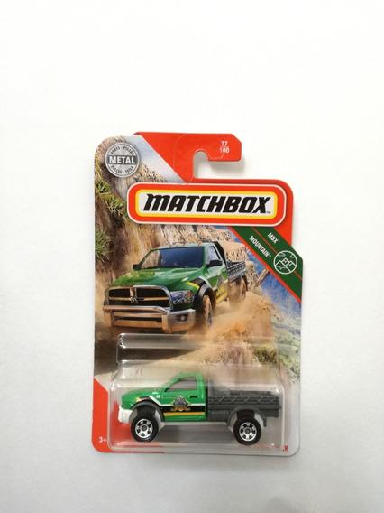 2018 caja de cerillas-2015 RAM nuevo de rescate MBX Pack 5