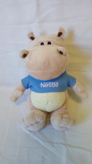 Pelúcia Nestlé Hipopótamo