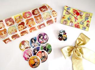 Mini Set Para Regalo Naruto Shippuden Boruto Sasuke Anime