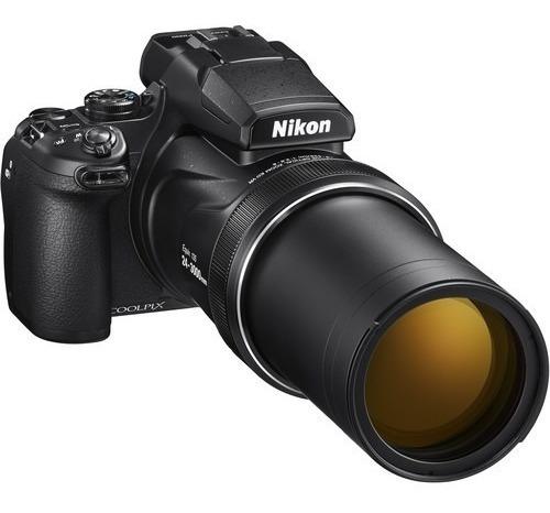 Câmera Nikon Coolpíx P1000 Zoom Ótico 125x Wi-fi Lançamento