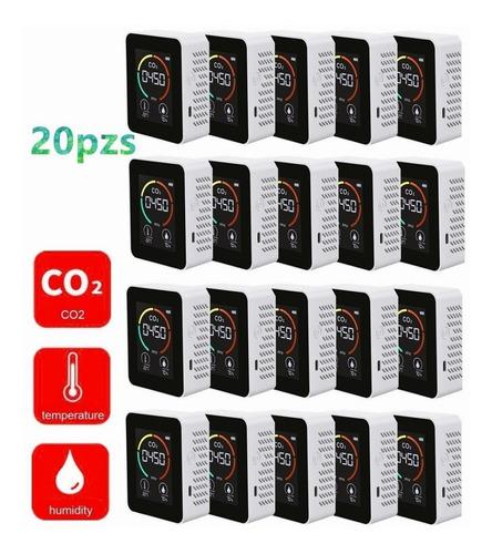 Imagen 1 de 9 de 20 Piezas Detector De Co2 Portátil Para Interiores Multifunc