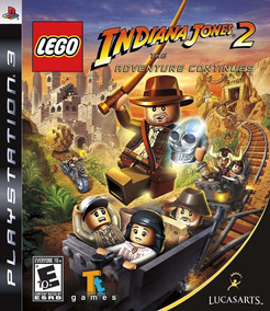 Lego Indiana Jones 2 Ps3 - M. Física | Garantia Playgorila