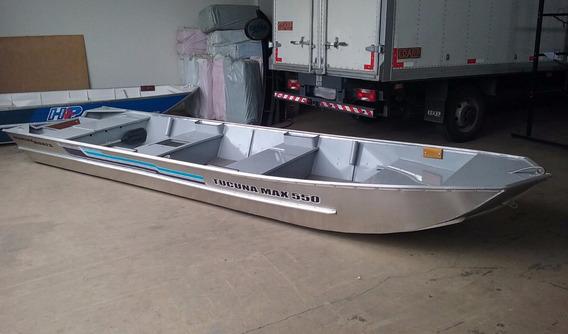 Barco De Alumínio Meia Quilha Tucuna Max 550 6mt