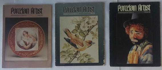 Pintura A Óleo Em Porcelana 1982 Técnica E Dicas 3 Revista