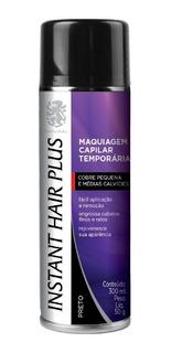 Instant Hair Plus Maquiagem Para Calvície - Preto