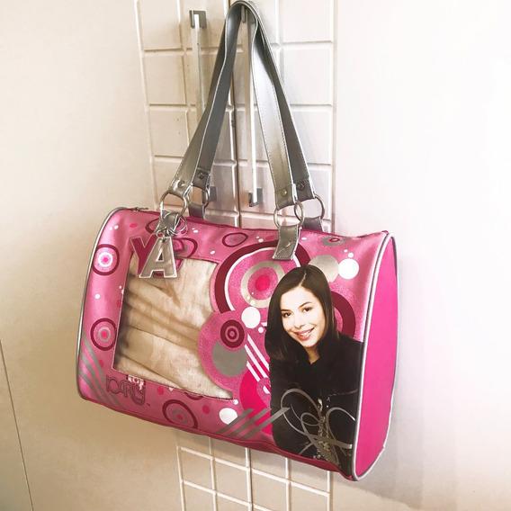 Bolsa Grande Da Icarly (nickelodeon) Estilo Duffle Bag