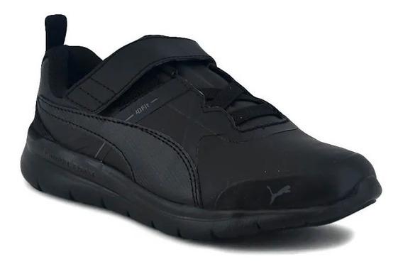 Puma Zapatillas Running Niño Flex Essential Sl Negro- Negro