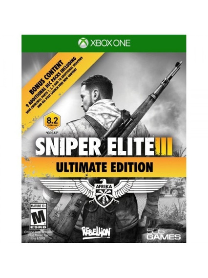Sniper Elite 3 Ultimate Edition Xbox One Digital Online