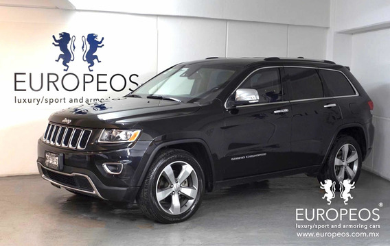 Jeep Grand Cherokee Limited V6 2014 Blindada Nivel 3