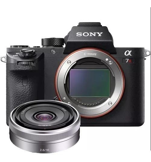 Câmera Sony Alpha A7rii - A7r Ii + Lente 16 Mm 2.8