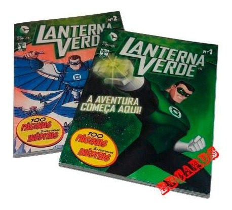 Lanterna Verde Dc Comics Coleção Em 2 Volumes