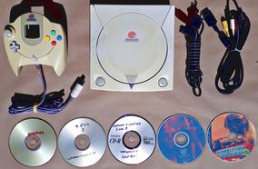 Console Sega Dreamcast Completo Controle Jogos Frete Grátis