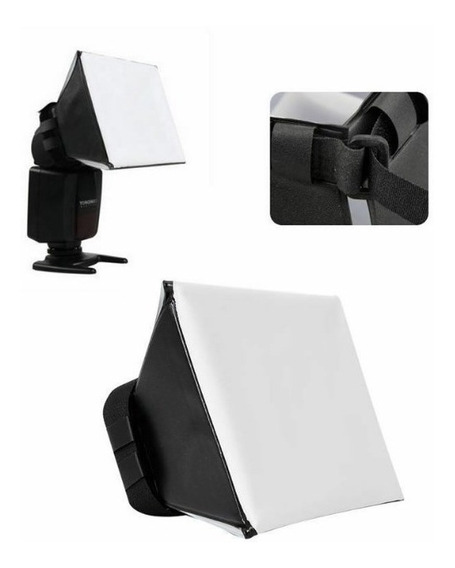 Difusor Para Flash Softbox Universal