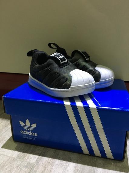Zapatillas adidas Superstar 360 Bebes Niños Varon Talle 19