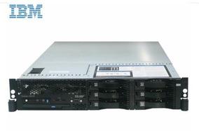 Servidor Ibm X3650 2.0 Ghz 4gb Memória 3 Hds 73gb 2 Fontes A
