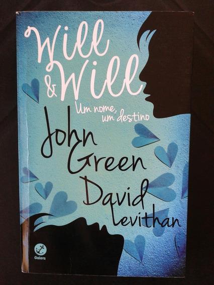 Livro Will & Will Um Nome Um Destino - John Green