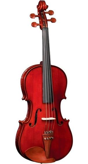 Viola Clássica De Arco Eagle 4/4 Va 150 Com Case Extra Luxo