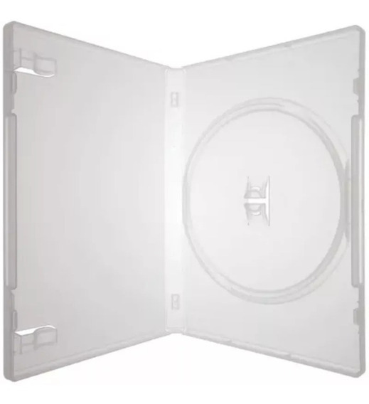 Box Dvd Com 10 Capinhas Capa Dvd Transparente Promoção