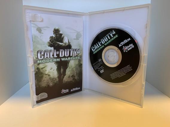 Call Of Duty 4: Modern Warfare Pc - Midia Física