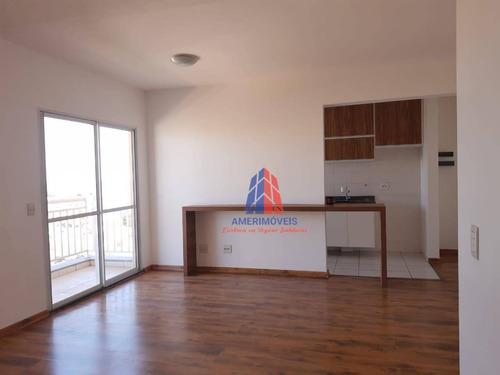 Apartamento Com 2 Dormitórios À Venda, 71 M² Por R$ 360.000,00 - Vila Belvedere - Americana/sp - Ap0477