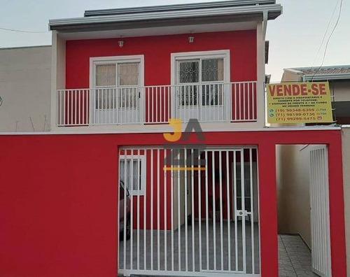 Espaçosa Casa Com 5 Dormitórios À Venda, 222 M² Por R$ 650.000 - Jardim Paraíso De Viracopos - Campinas/sp - Ca12752