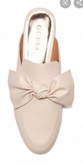 Zapato Tipo Flat Para Dama Guess Rosa Nude