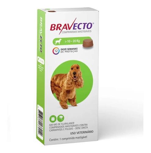 Imagen 1 de 2 de Bravect 10-20kg, Envio Gratis A Todo Chile - Aquarift