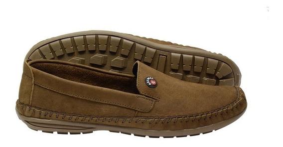 Sapato Masculino Mocassim Dockside Couro Galway 760-3 Promo.