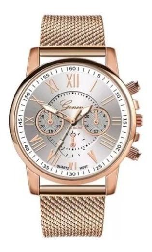 Relógio Feminino Geneva Quartzo Luxo