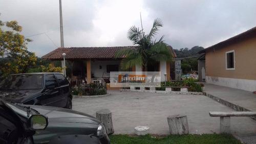 Chácara Residencial À Venda, Zanzala, São Bernardo Do Campo. - Ch0064