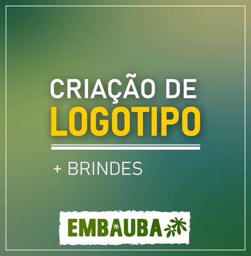 Imagem 1 de 1 de Criação De Logotipos + Brindes