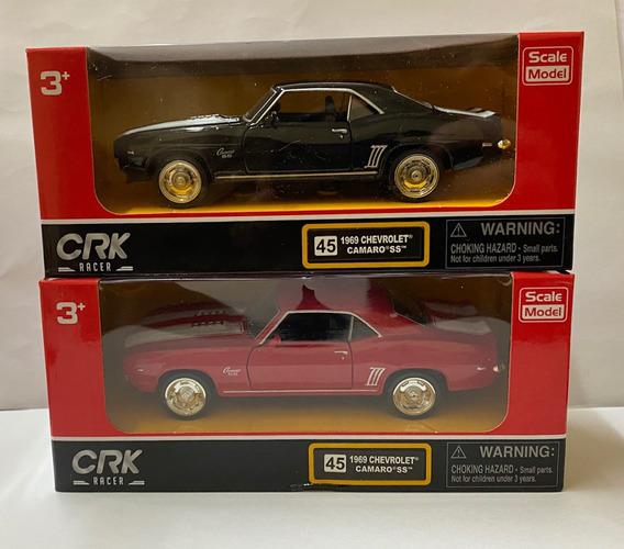 Set 2 Autos Crk Chevrolet Camaro A Escala Original!!
