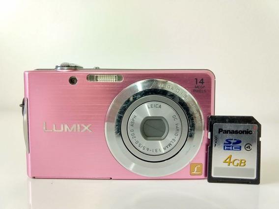 Câmera Panasonic Lumix Dmc-fh2 Usada