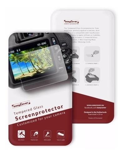 Protector De Pantalla Vidrio Templado Easycover Canon Nikon
