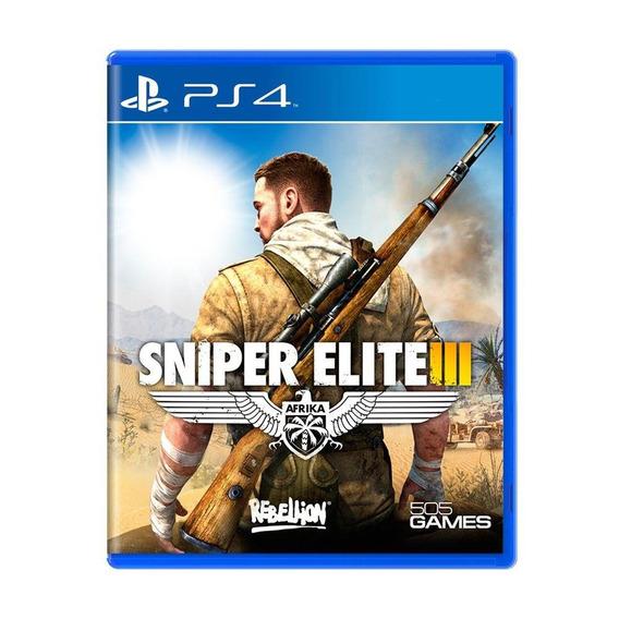Sniper Elite Iii Ps4 Mídia Física Pronta Entrega