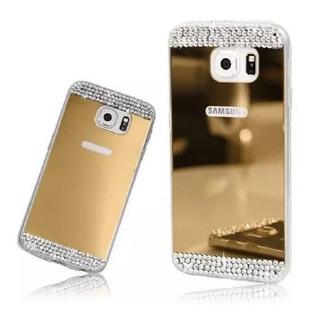 Funda Para Samsung Strass Espejada