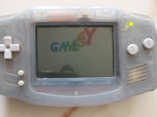 Consola Gameboy Advance Violeta Transparente