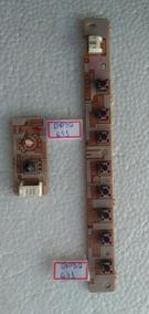 Teclado E Sensor Tv/dvd Sanyo Mod. Dp32671