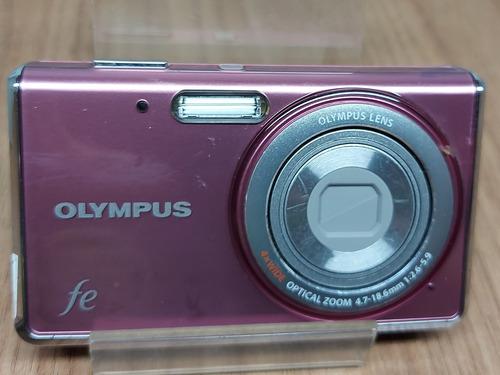 Máquina Fotográfica Olympus  Fe Retirar Peças  ( Ver Fotos)