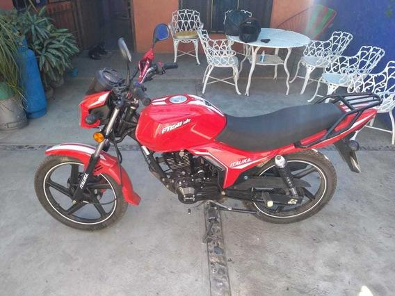Moto Italika Ft 150 Gts Roja