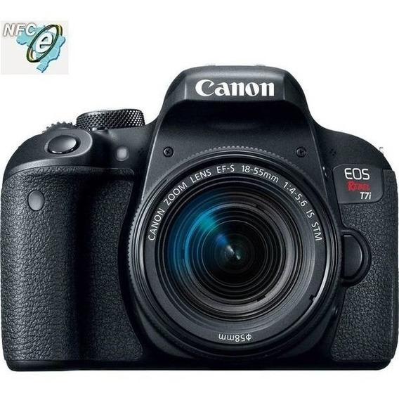 Canon Eos T7i Lente 18-135mm Is Nano Usm Nota Fiscal