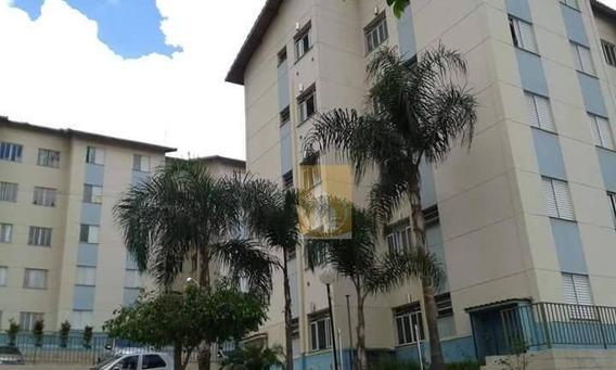 Apartamento Semi Mobiliado Com 2 Dormitórios Para Alugar, Por R$750/mês - Jardim São Miguel - Ferraz De Vasconcelos/sp - Ap0150
