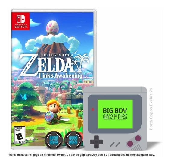 The Legend Of Zelda Links Awakening + Caps Grip Switch