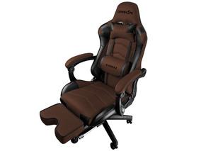 Cadeira Gamer Raidmax Drakon Marrom/preto Dk-709br