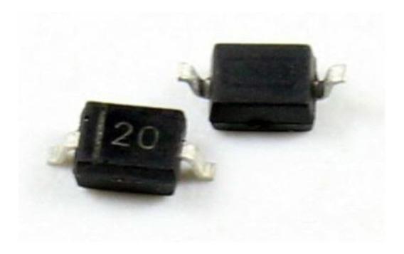 Diodo Bat20j Schottky Smd Sod-323 - 02 Unidades Bat 20 J Smd