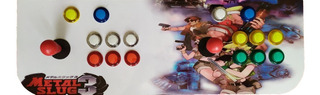 Tablero Arcade Consola Retro Maquinita ::botones Leds::
