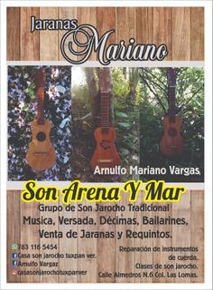 Jaranas Mariano 7831165454 Fb Arnulfo Vargas