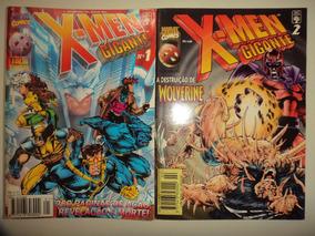 X Men Gigante 1 E 2 Completa Editora Abril 1996 Excelentes