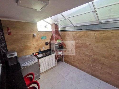 Imagem 1 de 20 de Village Com 2 Dormitórios À Venda, 84 M² Por R$ 425.000,00 - Residencial De Ville - São José Dos Campos/sp - Vl0001