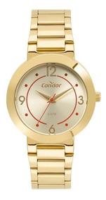 Relógio Condor Feminino Dourado Analógico Co2035mqh/4d